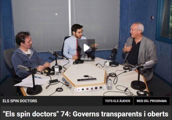 Els spin doctors 74 amb Jordi Graells